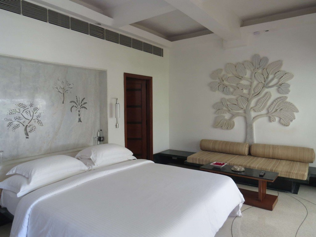 Garden Suite at Devi Garh, a luxury boutique hotel on the outskitrs of Udaipur in Rajasthan, India