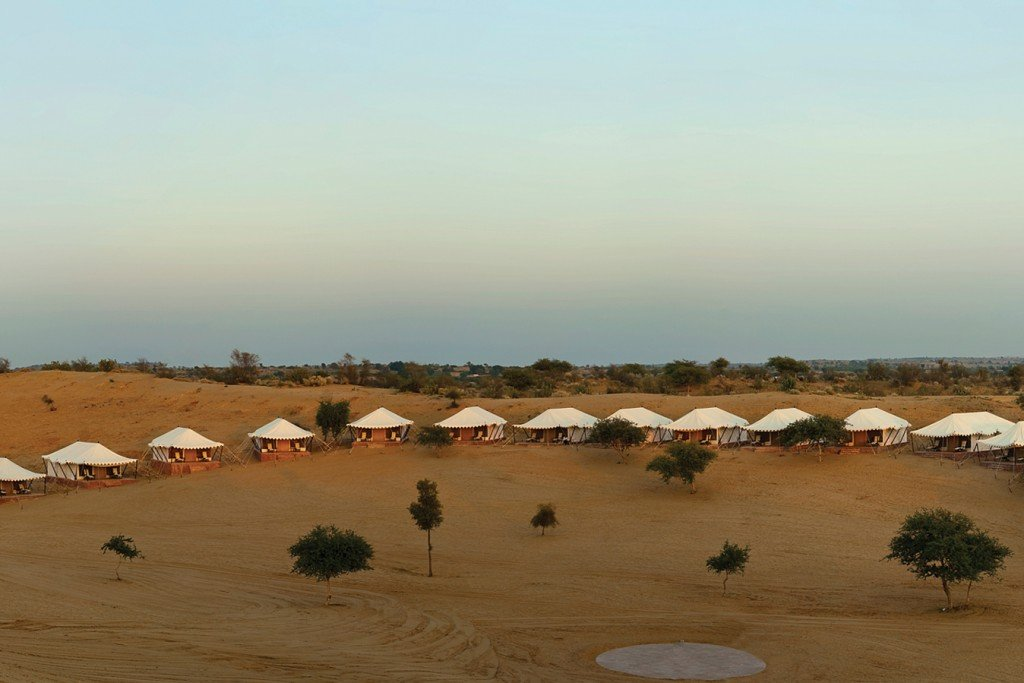 Samsara luxury desert camp in Rajasthan