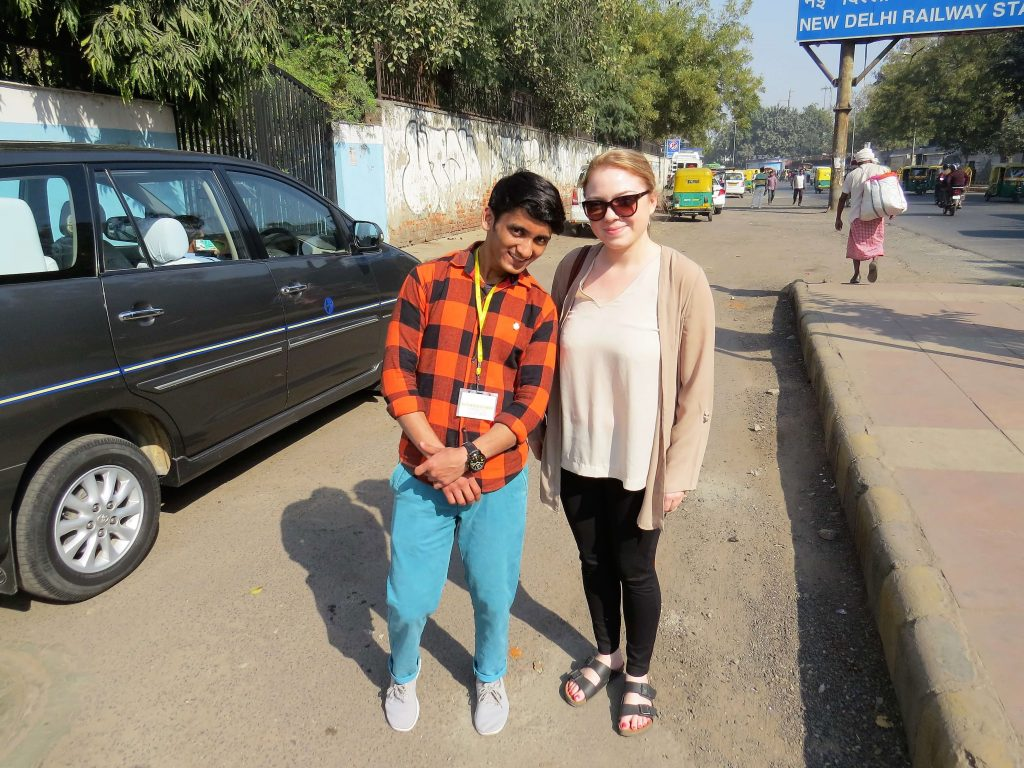 Salaam Baalak Trust Old Delhi Tour Madeleine Maddie Hann Indian Excursions Co