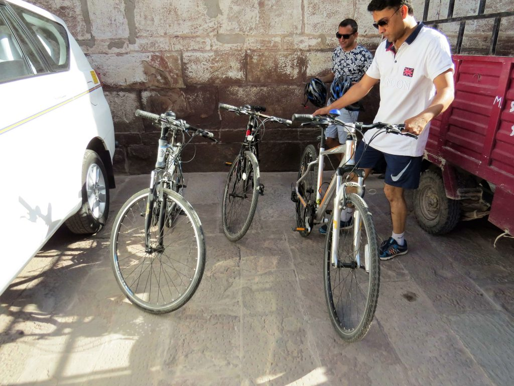 Cycling tour Jodhpur Old City Rajasthan