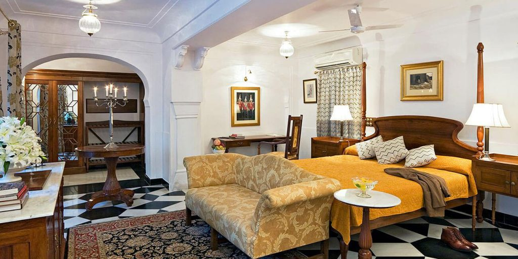 Deluxe Suite at Samode Haveli hotel, Jaipur
